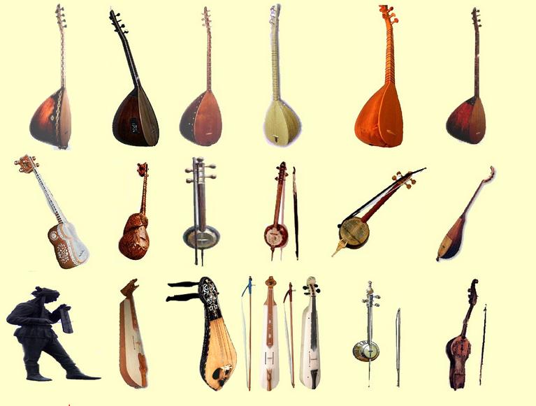 Müzik aletleri türleri: kısa bir açıklama