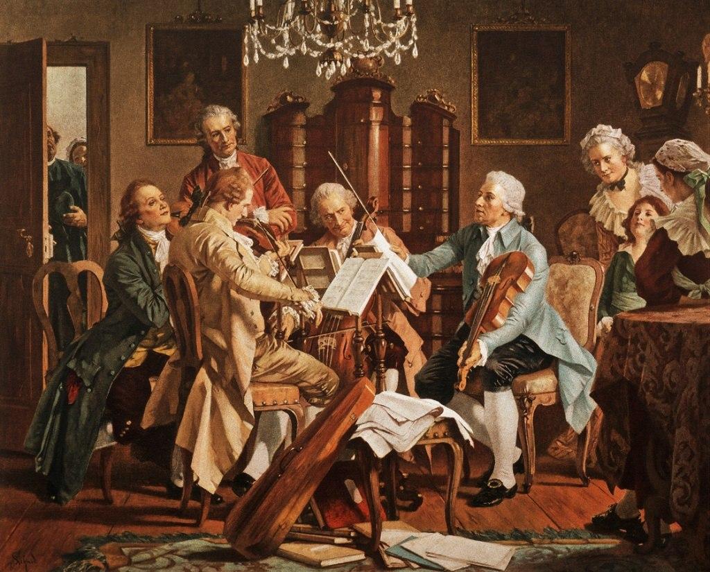 Klasik Batı üziğinin Geçirdiği Dönemler Ünlü Besteciler Beste Mozard Betthoven List Famous Classical Composer Eserler Notalar Meşhür Besteci